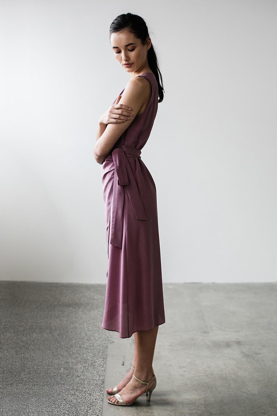 Violet-Dress