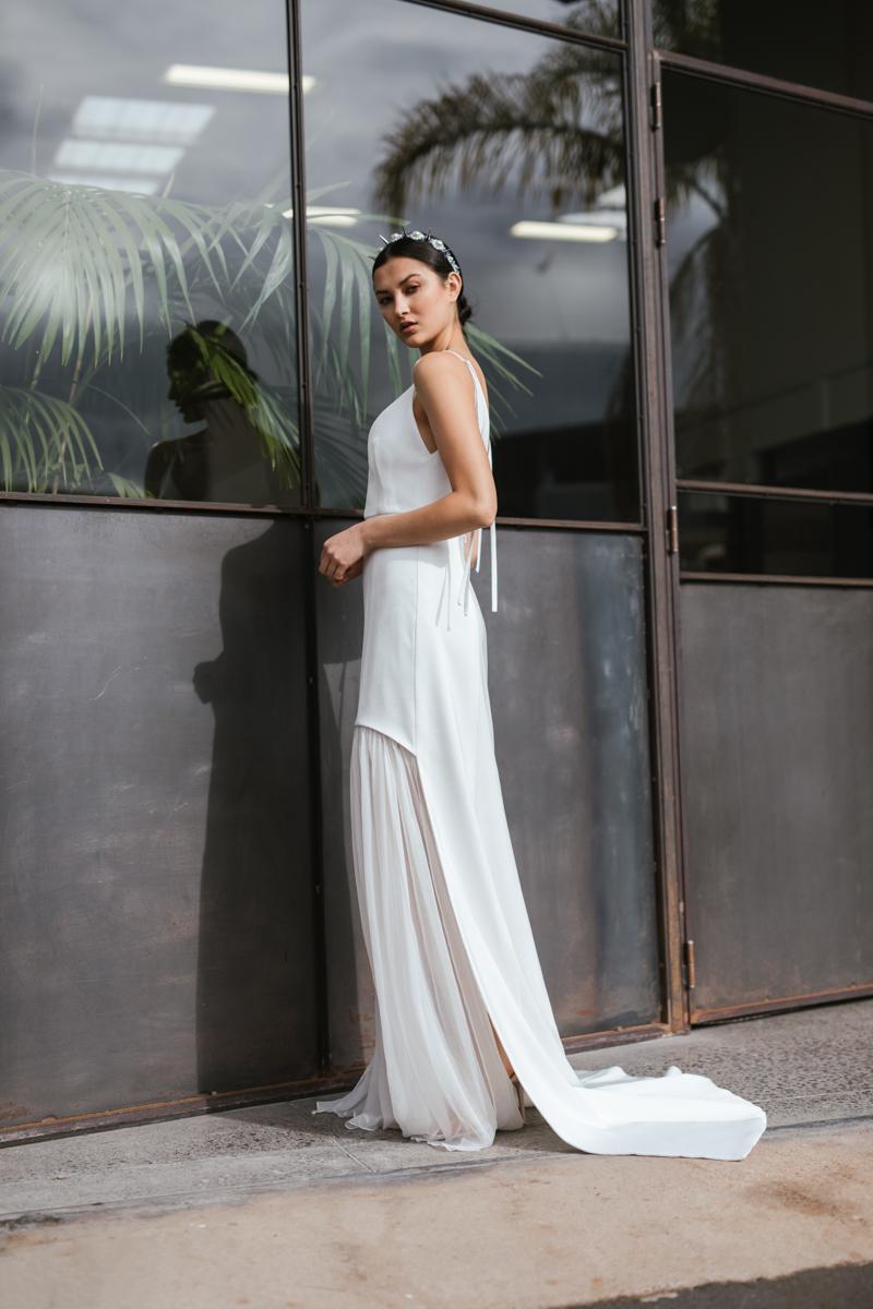 Short wedding dress Auckland
